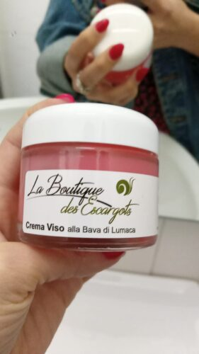 Crema Viso alla Bava di Lumaca | La Boutique des Escargots photo review